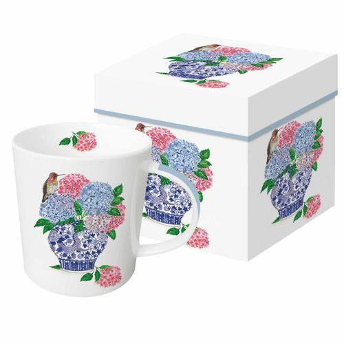 13.5oz Mug with matching decorative gift box  New Bone China  Dishwasher/Microwave safe