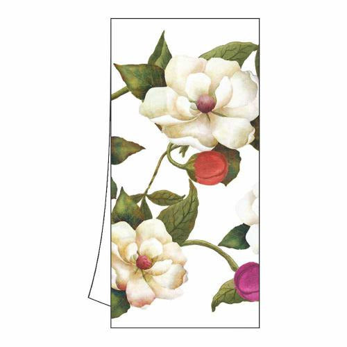 "Kitchen/Bar Towel 18"" x 26"" (unfolded)  100% Cotton  Machine Washable"