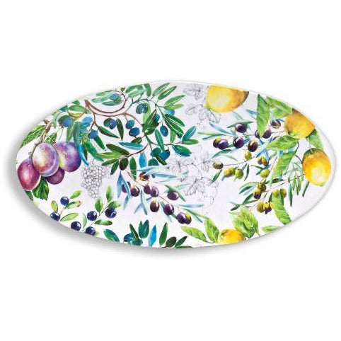 TUSCAN GROVE  OVAL PLATTER