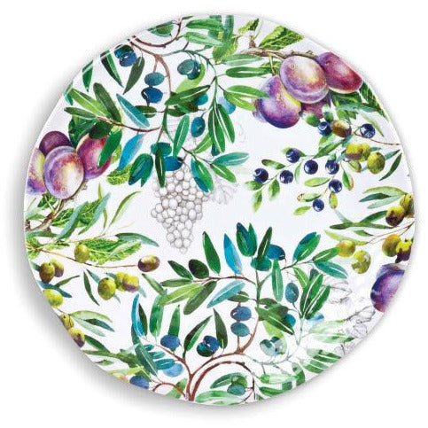 TUSCAN GROVE  LARGE ROUND PLATTER