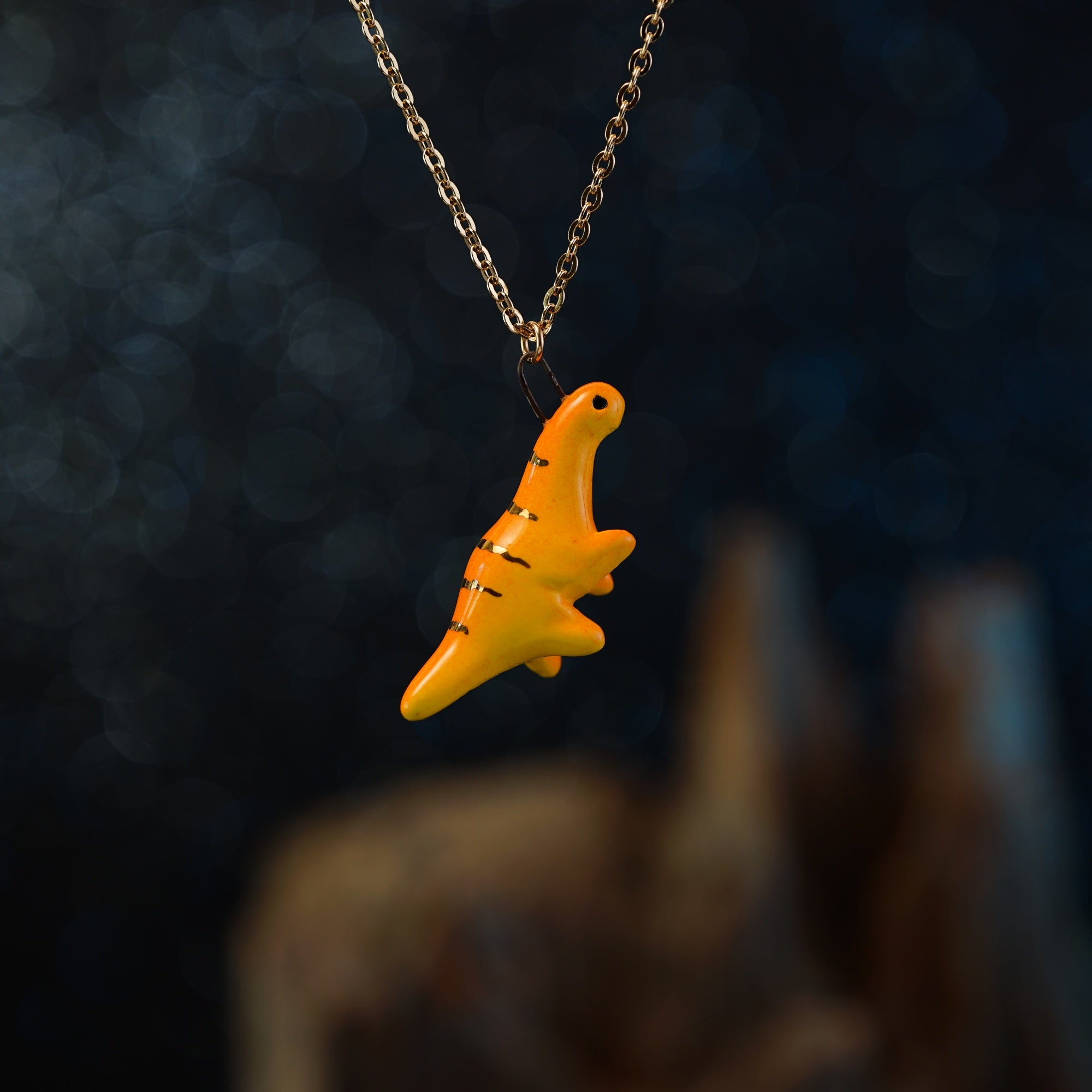 Dancing Dinosaur Necklace