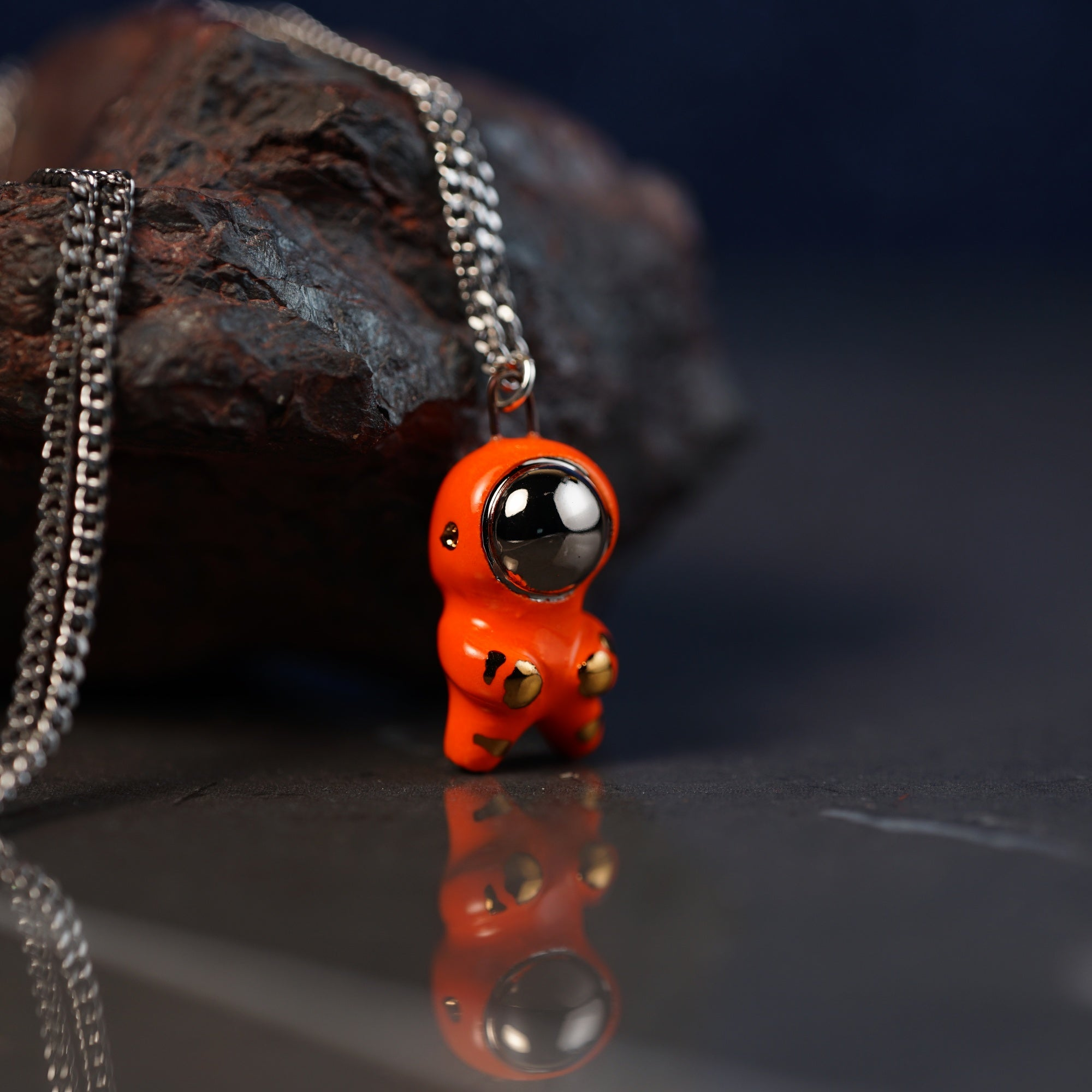 Little Astronaut Necklace