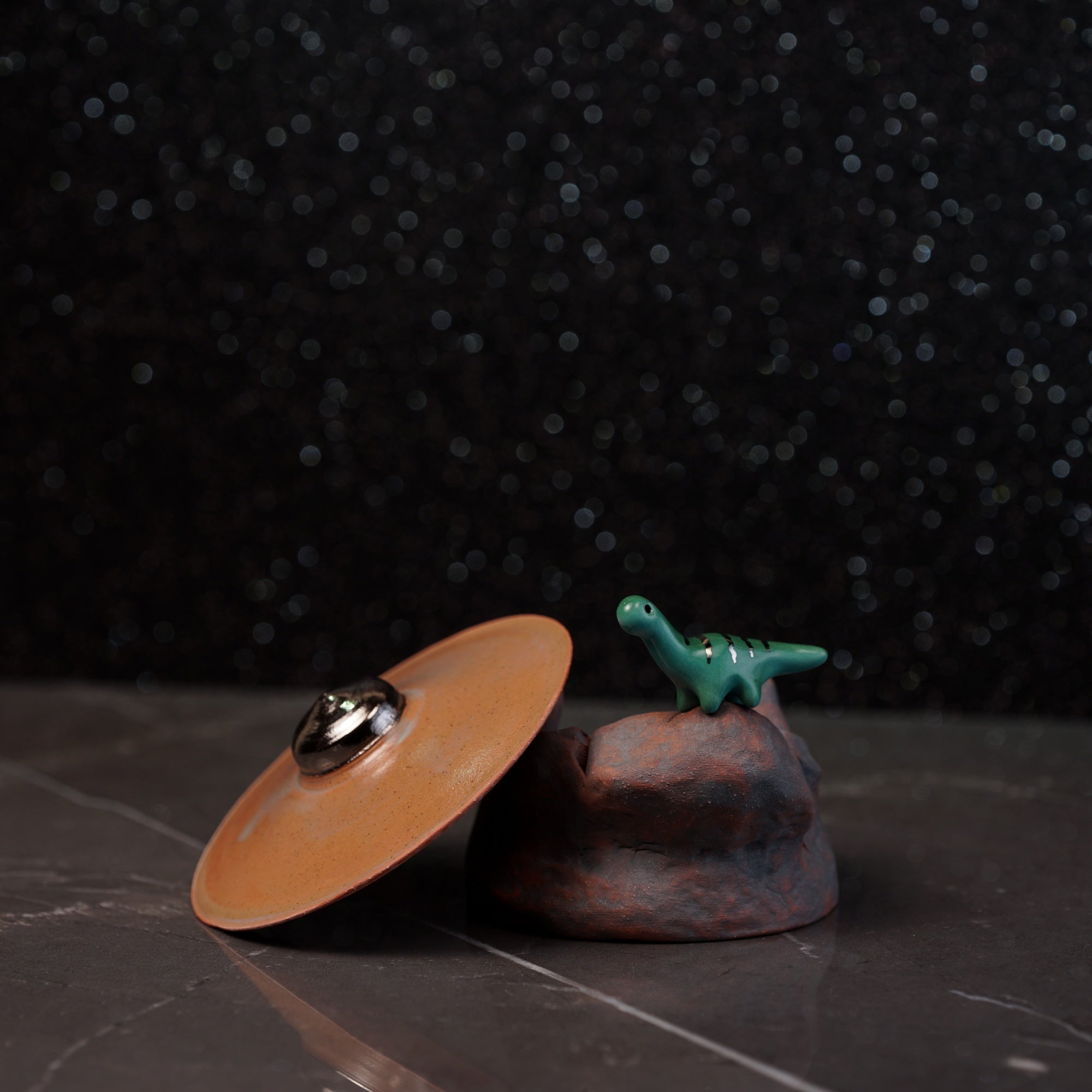UFO Crash Incense Burner