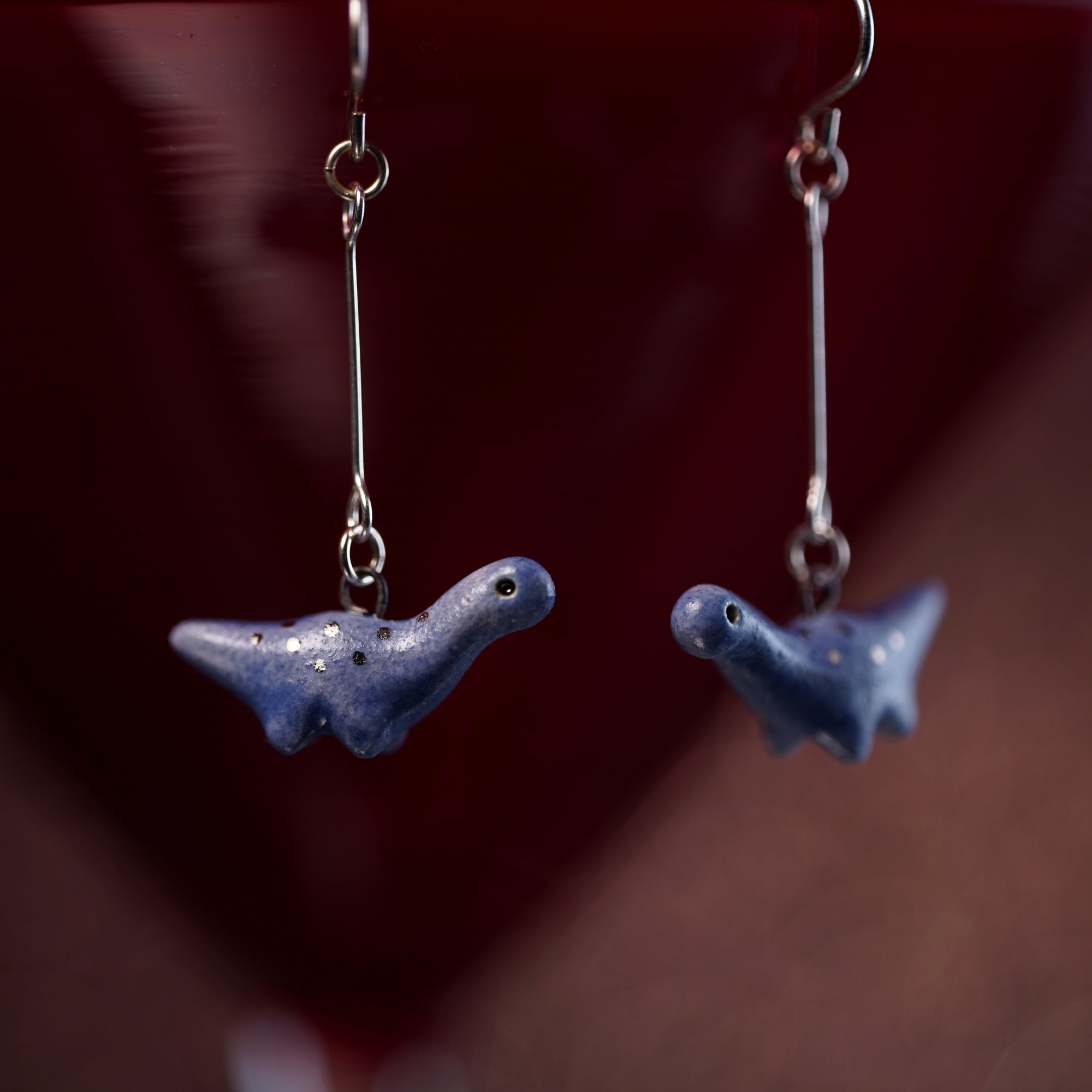 Dangly Dino Earrings
