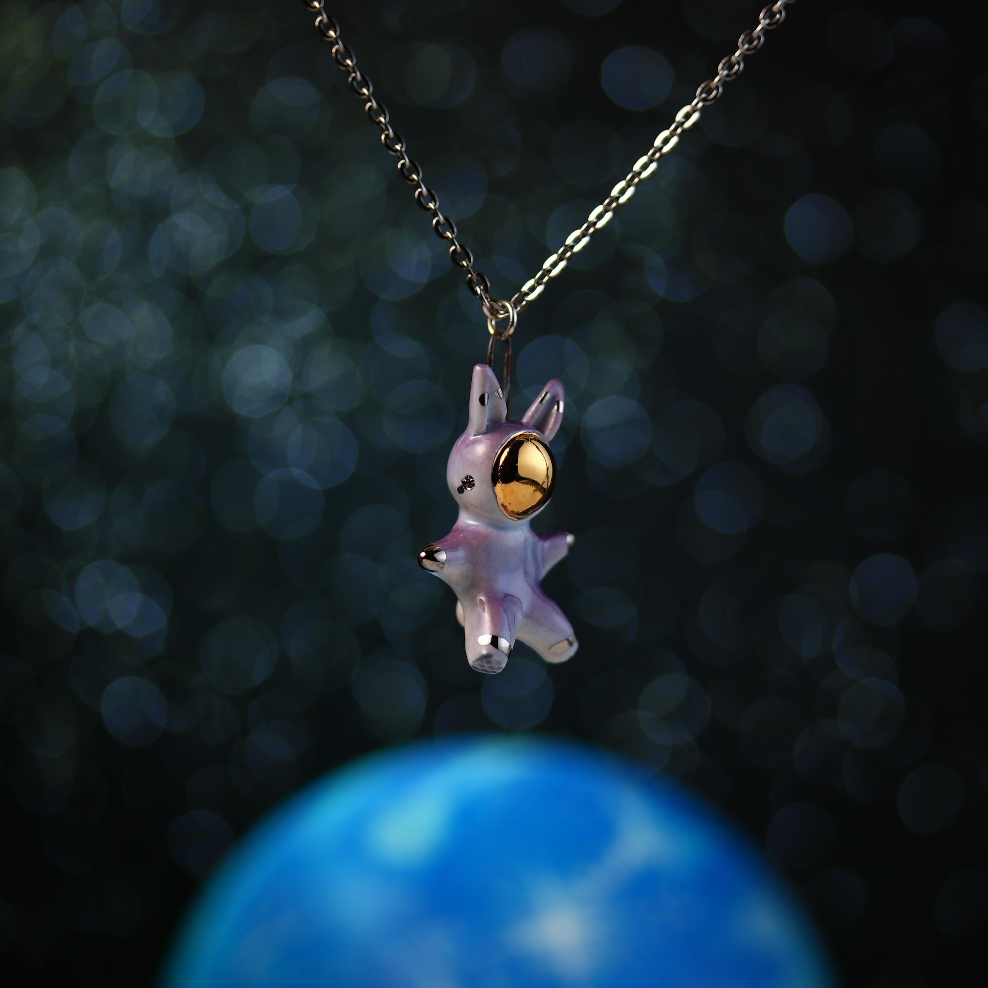 Little Bunnynaut Necklace