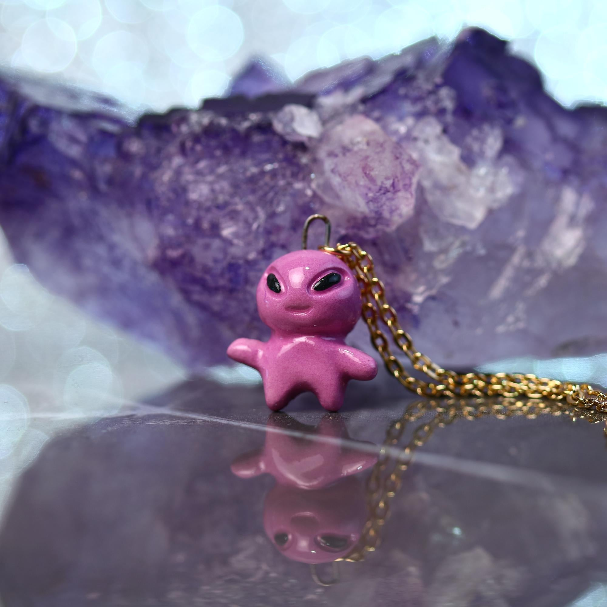Little Alien Necklace
