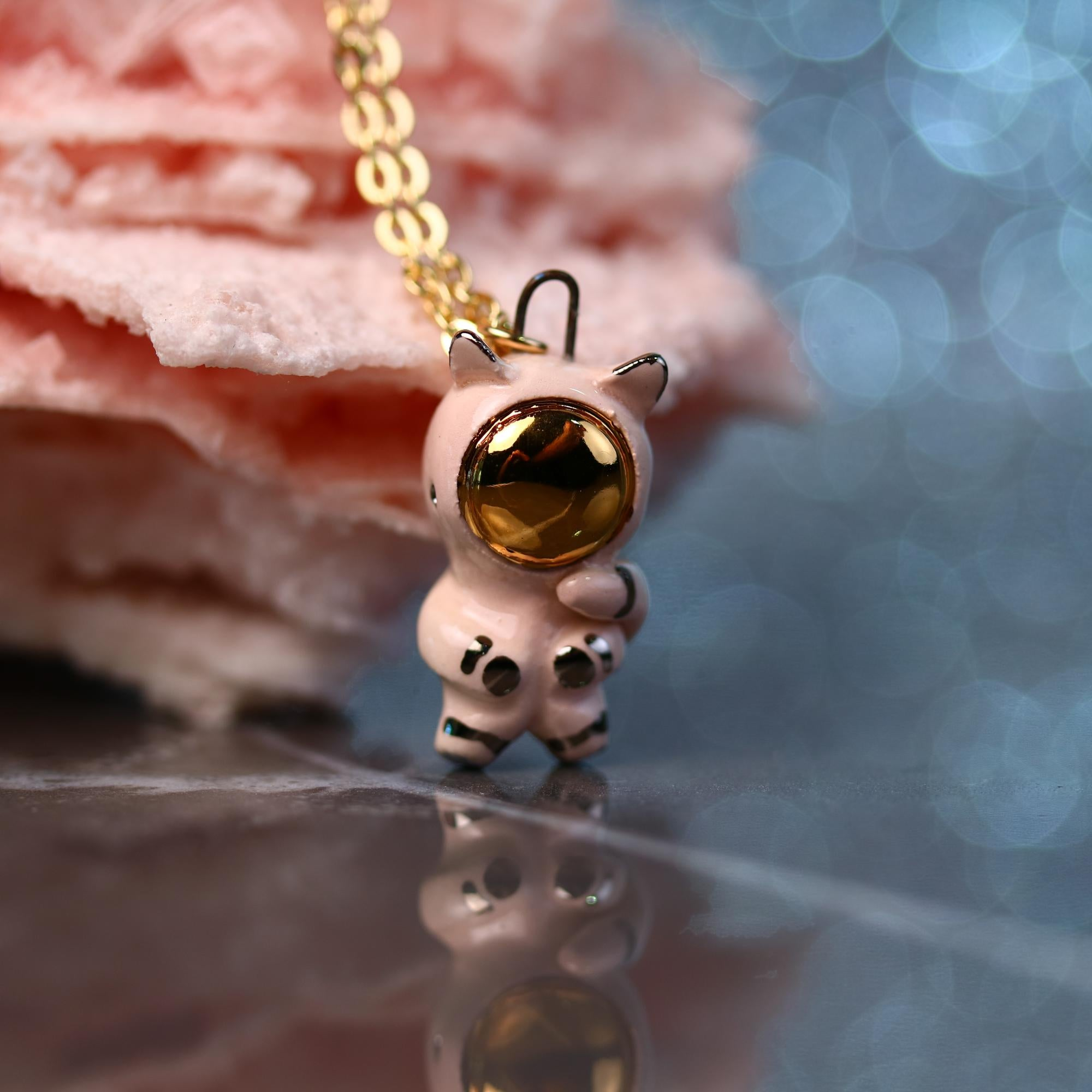 Little Catronaut Necklace