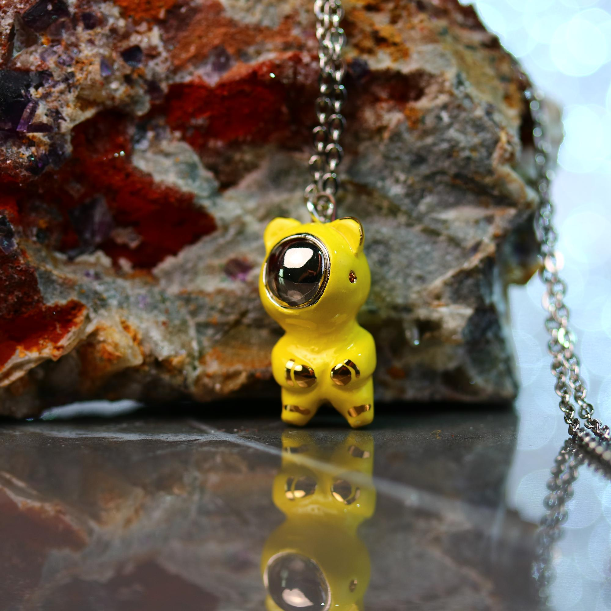 Little Bearnaut Necklace