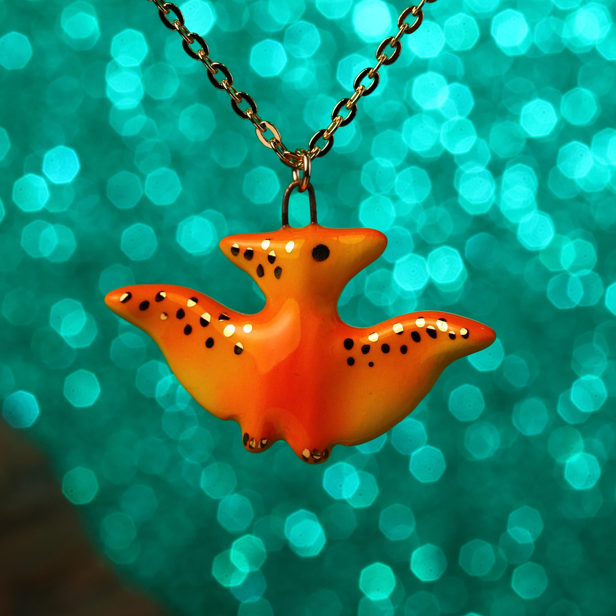 Little Pterodactyl Necklace