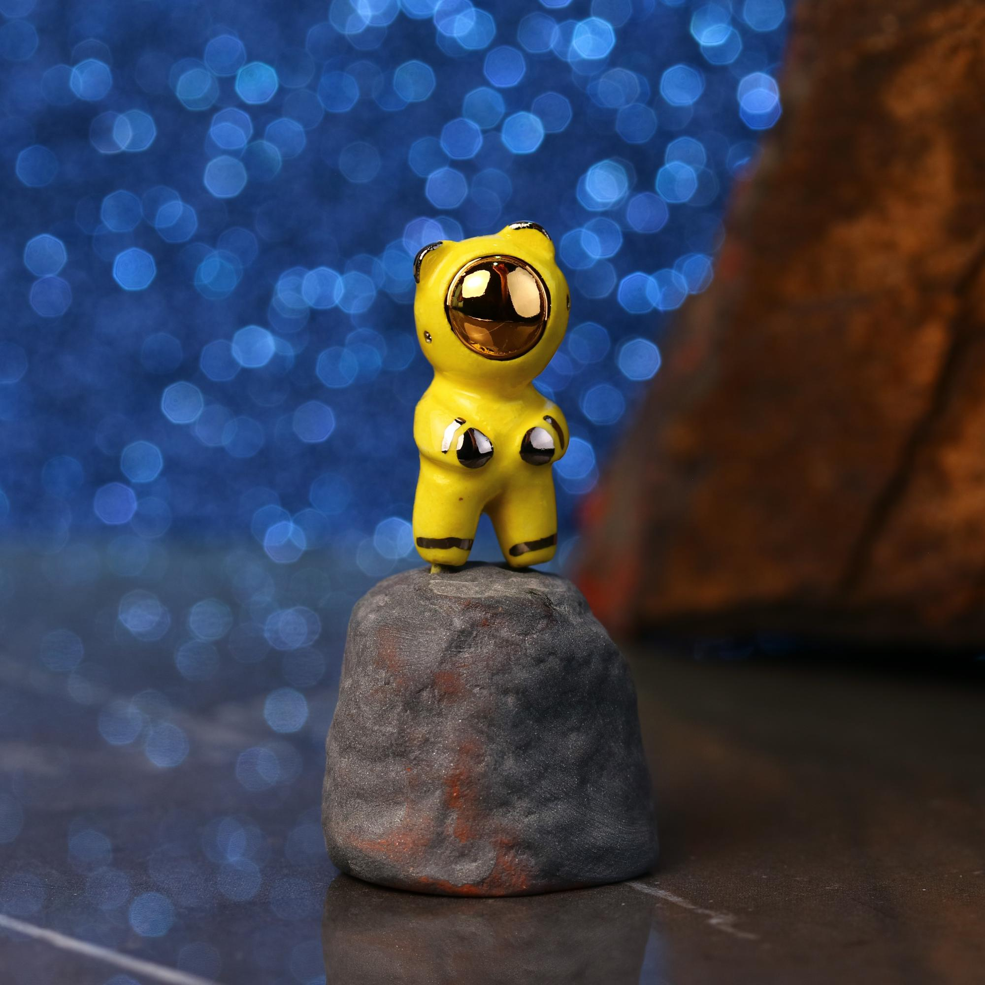 Little Bearnaut Figurine