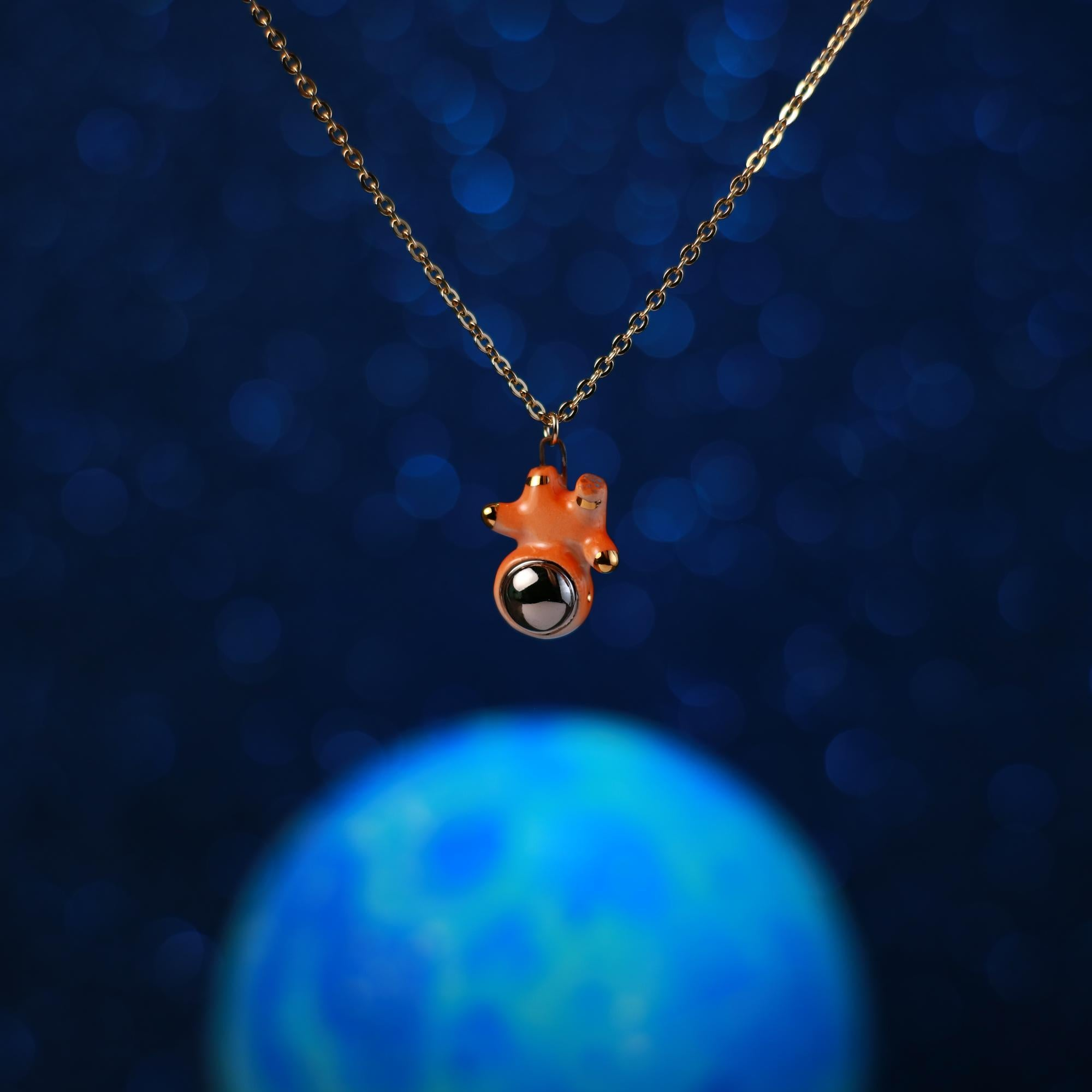 Floating Astronugget Necklace