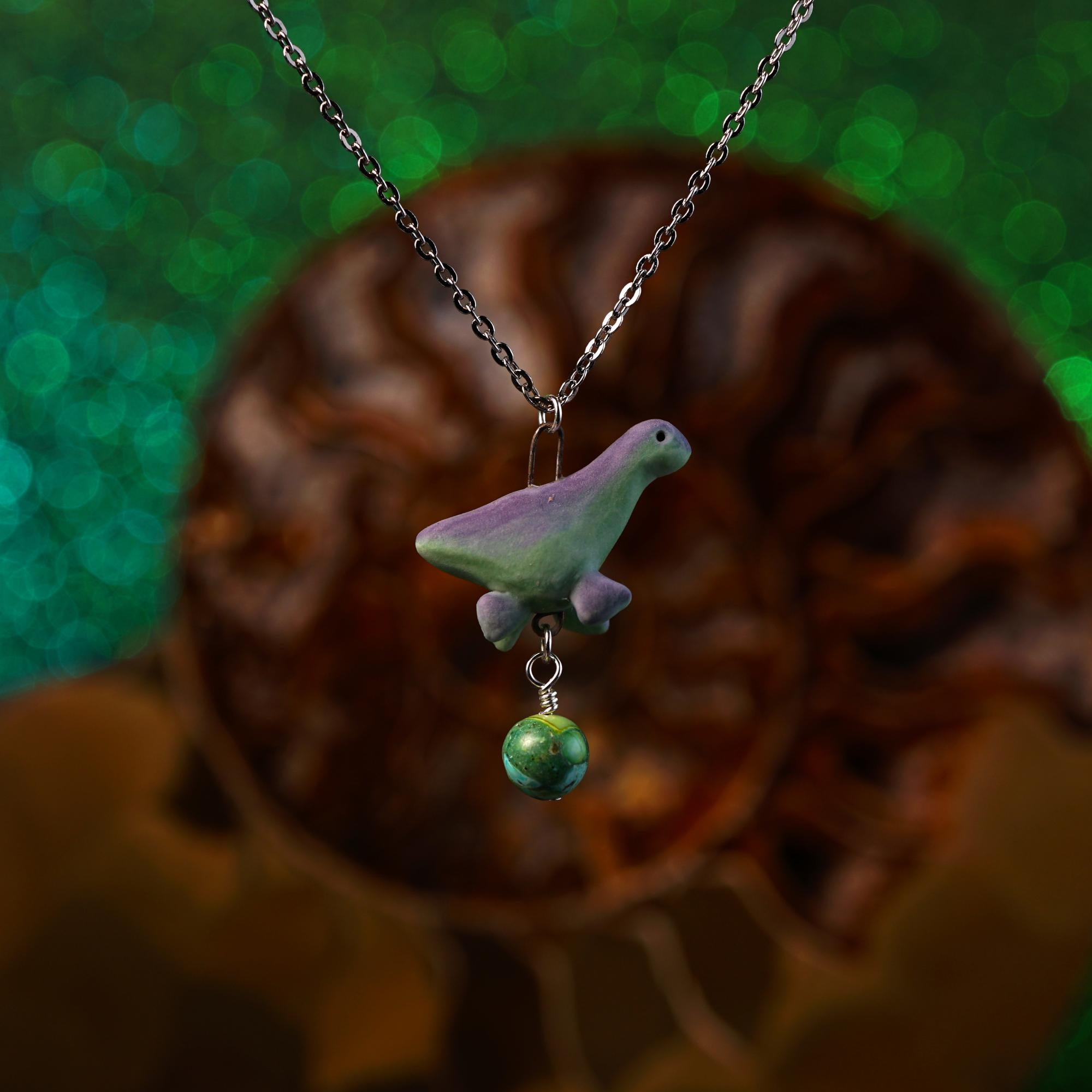 Plesiosaurus Necklace
