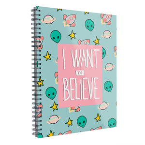"Libreta Profesional ""I want to Believe"""