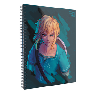 "Libreta Profesional ""The Legend of Zelda: Breath of the Wild"""