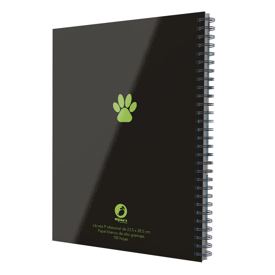 "Libreta Profesional ""Claws Out!"""
