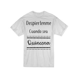 "Playera Vinil ""Quincena"""