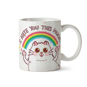 "Taza ""I Hate You Cat"""
