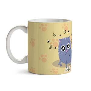 "Taza ""Working Cat"""