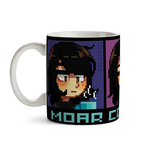 "Taza ""Moar Coffee Plz"""