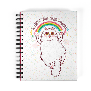 "Libreta de Notas ""I Hate You Cat"""