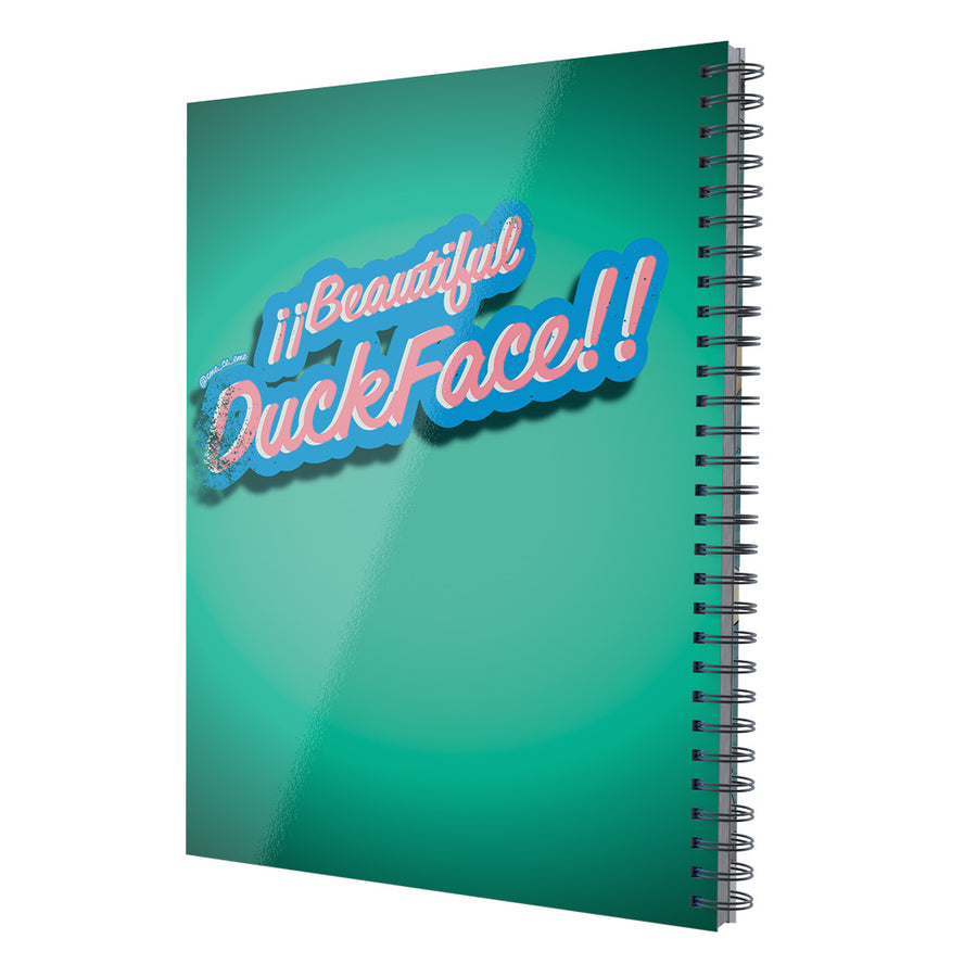 "Libreta Profesional ""Beautiful DuckFace"""