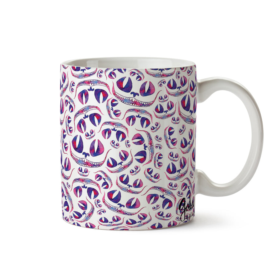 "Taza ""Cheshire cat"""