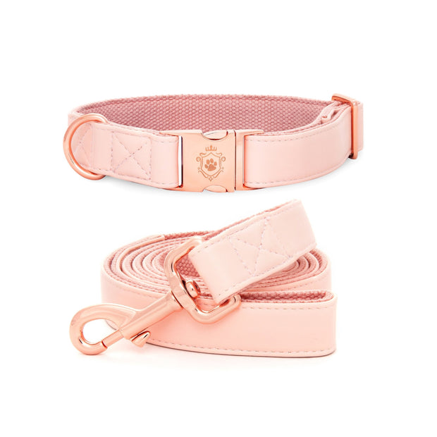 Candy Pink Collar & Leash Set