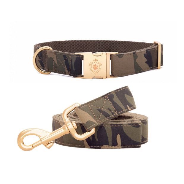 Camo Collar & Leash Set