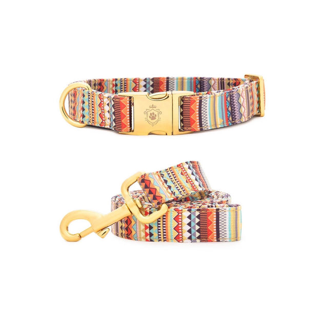 Kwahu Collar & Leash Set