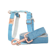 Denim Leash & Harness Set