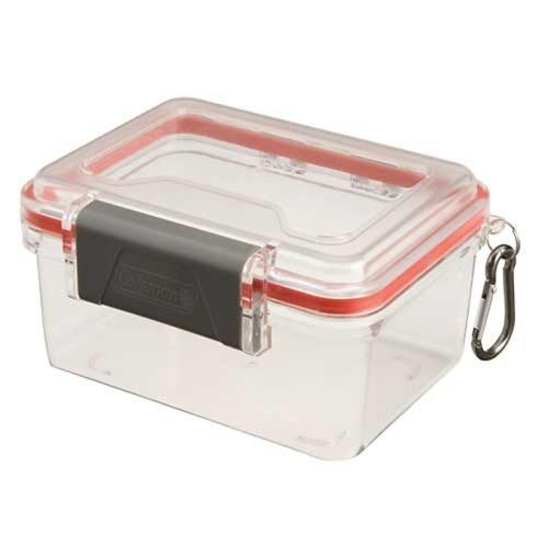 Coleman Medium Watertight Storage Container Clear