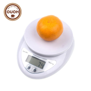 5000g/1g 5kg LED Electronic Food Diet Postal Kitchen Digital Scale Scales Cooking Tools Balance Weight Weighting MCT-17
