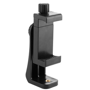 360 Degree Phone Holder Tripod Stick Cell Phone Clamp Mount Vertical Bracket for Smart Phone