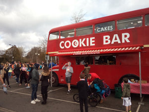 Cookie Bar Bus at Surrey Half Marathon - 10 March 2019