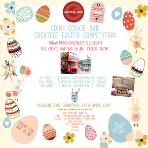 Easter Competition - Win boxes of cookies!