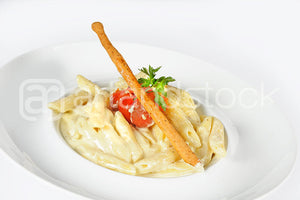 ID 127 Pasta with Cheese - Artandstock