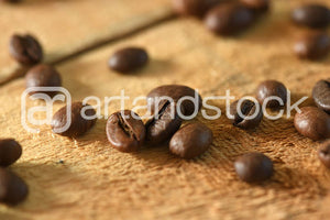 ID 132 Coffee Beans close up - Artandstock