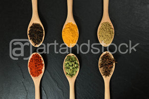 ID 152 Indian Spices - Artandstock