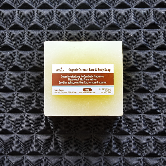 Organic Coconut Face & Body Soap