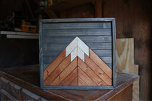 Load image into Gallery viewer, Mini Mountain // Charcoal, American Walnut, Natural
