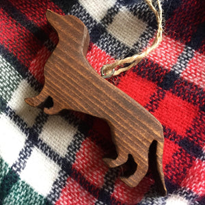 Dachshund Ornament