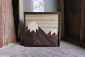 Two-Peak Mini Mountain