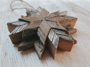 Barnwood Ornament