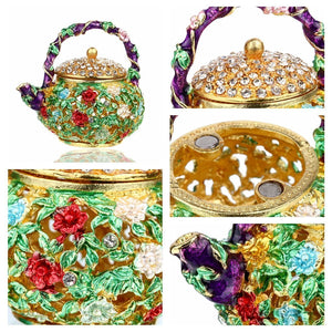 JEWELRY BOX TRINKETS (Teapot)