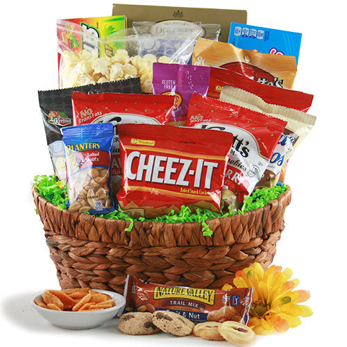Sweet & Salty Snacks Gift Basket