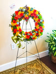 Sympathy Standing Wreath