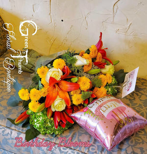 Handtied Flower Bouquet Blooms