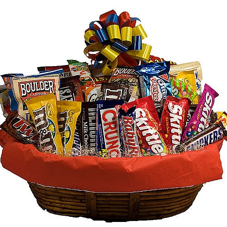 Sweet Snacks Gift Basket