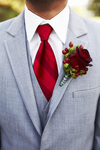 Groom's Boutonniere Single Custom