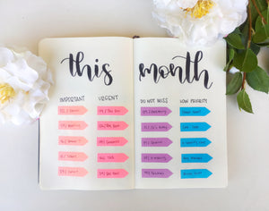 Decorating your Planner with Sticky Notes
